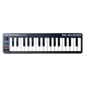 CONTROLADOR-MIDI-M-AUDIO-KEYSTATION-MINI-32