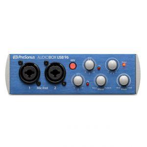 INTERFAZ-DE-AUDIO-PRESONUS-AUDIOBOX-USB-96-azul_