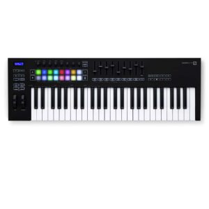 CONTROLADOR-MIDI-NOVATION-LAUNCHKEY-49-MK3-negro
